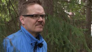 Pekka Kupila (Menneiisyyden metsästäjät) lähikuvassa