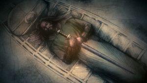 Rautakautinen miekansäilä