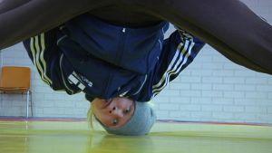 Viktminskningsgymnastik inför brottnings-EM i Vanda 2014