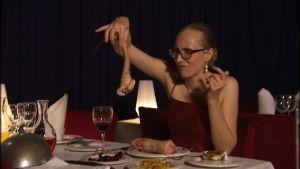 Stradan Marjut Tervola ruokamaistelijana