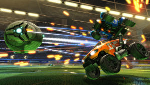 Autot pelaavat jalkapalloa