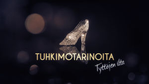 logo tekstillä