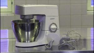 Kungskonsumenten testar köksmaskiner.