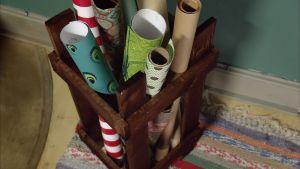 En korg för presentpapper