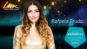 Uuden Musiikin Kilpailu 2016, Rafaela Truda