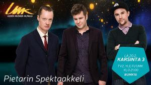 Uuden Musiikin Kilpailu 2016, Pietarin Spektaakkeli