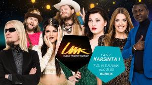 Uuden Musiikin Kilpailu 2016:n 1. Karsinnan osallistujat
