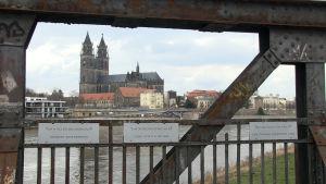 Magdeburg i Tyskland