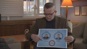 Matti Toivonen, toimittaja, Puoli seitsemän (TV1) selvittää, kumpi voitti vedonlyönnin bitcoin vai onecoin.