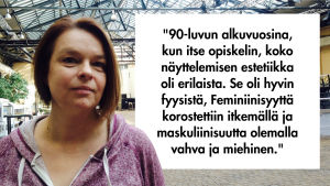 Näyttelijä Elina Knihtilä