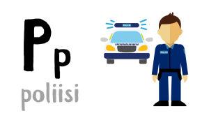 P - poliisi