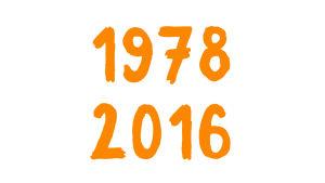 Numerot 1978 ja 2016