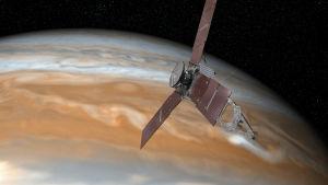 Nasas rymdsond Juno ska undersöka gasjätten Jupiter