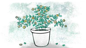 rahapuu, sijoittaminen