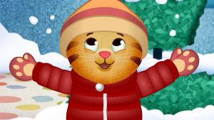 Daniel Tiger i vinterskrud