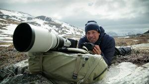 Kimmo Ohtonen Grönlannissa.