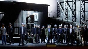 Kaivos-ooppera Unkarin valtionoopperassa