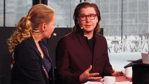 Lääkäri ja kapellimestariopiskelija Lauri Ahokas Kantapöydässä