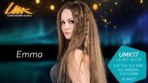 UMK17-kilpailija Emma (Sandström)