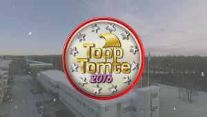 logo Topp Tomte 2016 på vy av ylehus