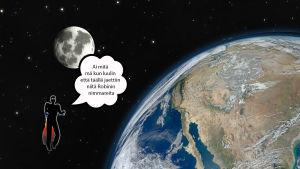 Suojiksen kuplakuva - Maapallo