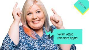 Jenny Lehtinen: Voisin ottaa teineistä oppia!
