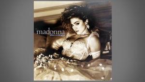 Konvolutet till Madonnas skiva Like A Virgin.
