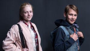 Heroes of the Baltic Sea -sarjan seikkailijanuoret Julia ja Vilho.