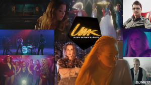 Kuvakollaasi Uuden Musiikin Kilpailu 2017 musiikkivideoista