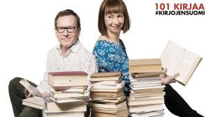 Seppo ja Nadja ja 101 kirjaa