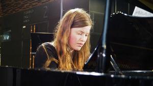 Pianisti Matleena Nyman.