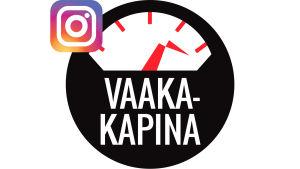 Vaakakapinan Instagramlinkkimainos.