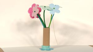 Askarrellaan: Sagan maljakko ja kukat