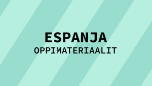 Navigaatiokuva aineen espanja oppimateriaaleille.