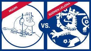 Kumpi on suomalaisempi: muumit vai Suomen leijona?