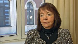 Latvian finanssivalvonnan riskien valvontaostaston johtaja Maija Treja.