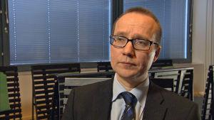 Pekka Vasara, rikostarkastaja, KRP.