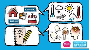 Suomen kielen fraaseja -oppimiskokonaisuuden pääkuva