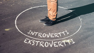 Ekstrovertilla ja introvertilla voi olla myös samoja ominaisuuksia.