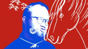 Pietari Kylmälä ja hevosaiheista grafiikkaa