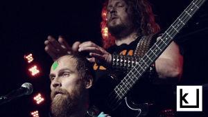 Cirle yhtyeen Mika rättö ja Jussi Lehtisalo