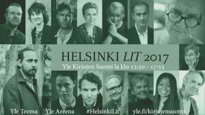 Helsinki Lit -kirjallisuusfestivaalin osallistujia