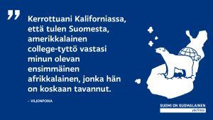 Suomen sijoittaminen oikeaan maanosaan voi olla ulkomaalaiselle haastava tehtävä.