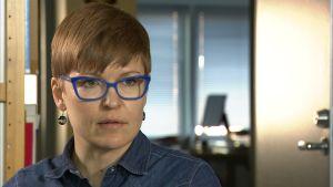 Forskaren Natalia Ollus vid Europeiska institutet för kriminalpolitik.