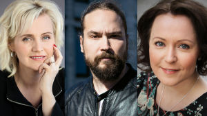 Eve Hietamies, Jukka Viikilä ja Jenni Haukio