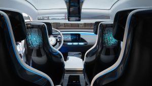 Mercedes-Benzin Concept EQ -sähköauto, mainoskuva