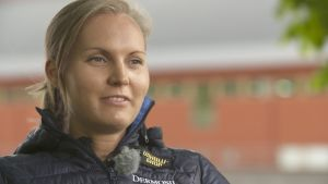 Trestegshopparen Sanna Nygård