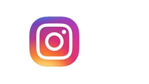 Instagramin sovelluksen logo,