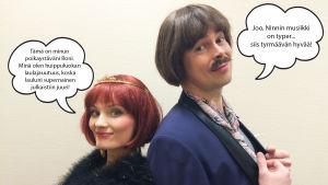 Kuplakuva - Ninni ja Roni