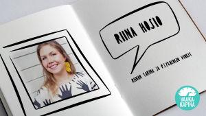 Riina Hosion tarina ja psykologin vinkit. Kuvassa Riina Hosio.